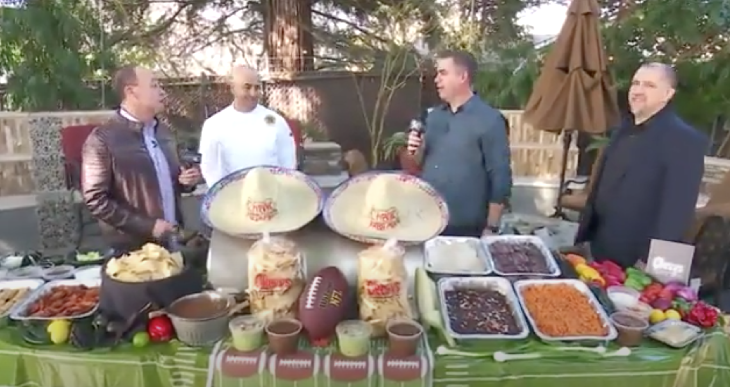 Chevys is perfect to Cater you Big Game Party! Featured on FOX40 banner image