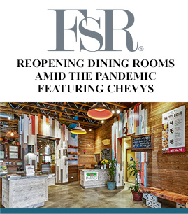 FSR Magazine Features XRG's Re-opening Plans banner image