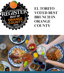 El Torito Voted Best Brunch in Orange County banner image