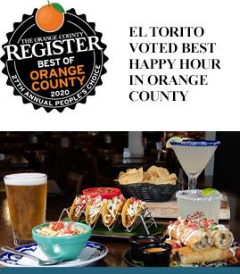 El Torito Voted Best Happy Hour in Orange County banner image