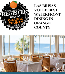 Las Brisas Voted Best Waterfront Dining in Orange County banner image