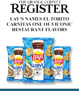 Lay's Name El Torito Carnitas One of 5 Iconic Restaurant Flavors banner image