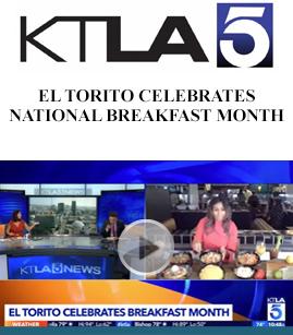 El Torito Celebrates National Breakfast Month banner image