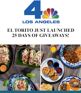 El Torito Just Launched 25 Days of Giveaways! banner image