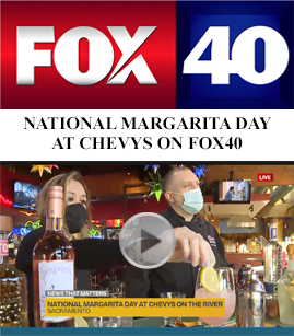 National Margarita Day at Chevys on FOX40 banner image