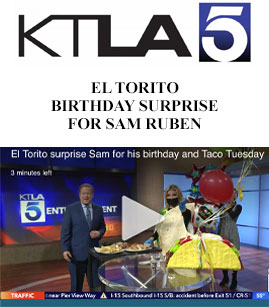 El Torito Birthday Surprise For Sam Ruben banner image