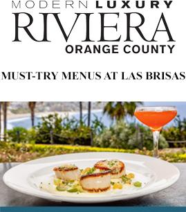 Must-Try menus at Las Brisas