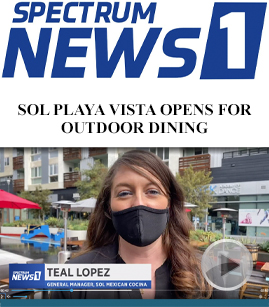 SOL Playa Vista Opens For Outdoor Dining banner image