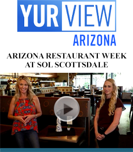 Arizona Restaurant Week at SOL Scottsdale banner image