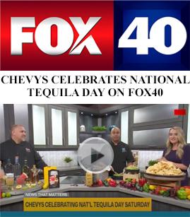 Chevys Celebrates National Tequila Day On FOX40